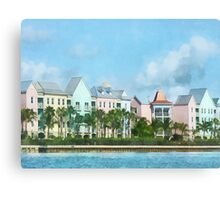 Caribbean - Leaving Paradise Island Canvas Print