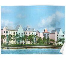 Caribbean - Leaving Paradise Island Poster