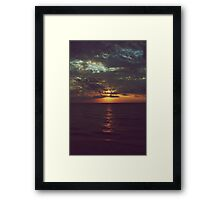 As Day Turns to Night Framed Print