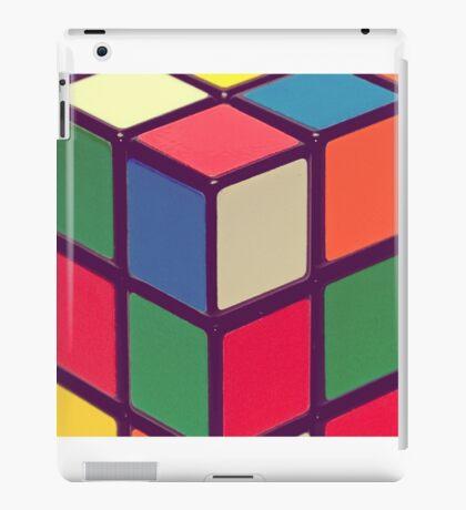 Vintage Cubes iPad Case/Skin