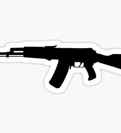 AK-47 assault rifle Kalashnikov Sticker
