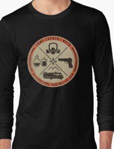 Camp Crystal Meth Merit Badge Long Sleeve T-Shirt