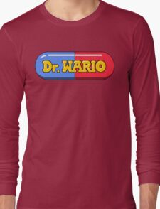 Dr. Wario Long Sleeve T-Shirt