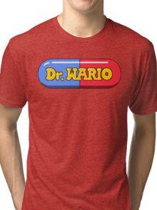 Dr. Wario Tri-blend T-Shirt