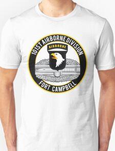 101st Airborne Combat Action T-Shirt
