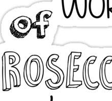 Prosecco Mission Sticker