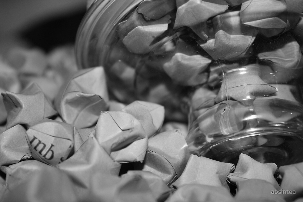 Paper Stars by absintea