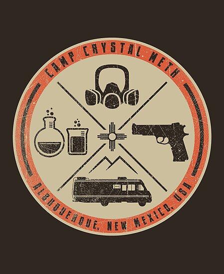 Camp Crystal Meth Merit Badge by popnerd