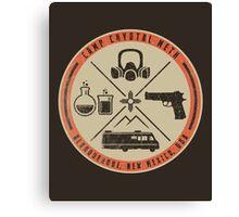 Camp Crystal Meth Merit Badge Canvas Print