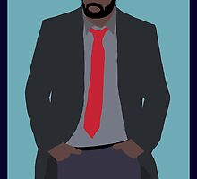 BBC's Luther Minimalist by Sven Horn