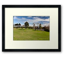Historic Hinton Bridge (1901), Hinton NSW Australia Framed Print
