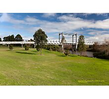 Historic Hinton Bridge (1901), Hinton NSW Australia Photographic Print