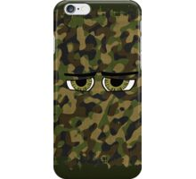 Funny Camouflaged Eyes, Military, Hunters, Army  iPhone Case/Skin