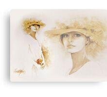 """Romantic"" Collage Canvas Print"