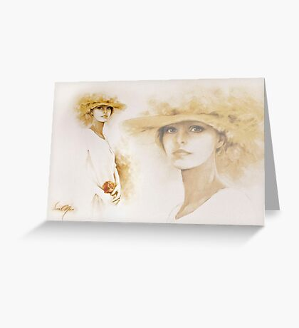 """""""Romantic"""" Collage Greeting Card"""
