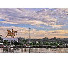 Lembuswana Statue of Kumala Island Tenggarong Kutai Kartanegara East Borneo Kalimantan Photographic Print