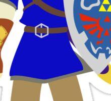Blue Link Sticker