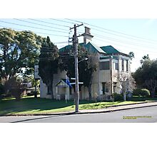 No.1 Oakhampton Road, Maitland, NSW Australia Photographic Print