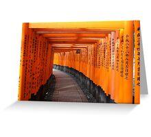 Fushimi Inari Shrine Greeting Card