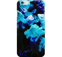 Rhododendrons in Blue, Floral, Blue Flowers iPhone Case/Skin