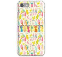 Flip Flop Summer Fun iPhone Case/Skin