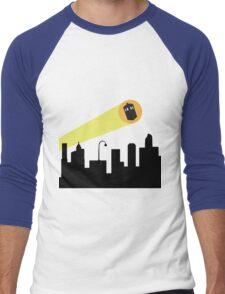Bat Signal: Who Men's Baseball ¾ T-Shirt