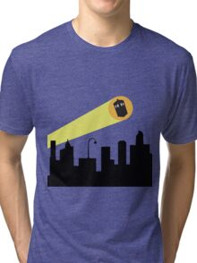 Bat Signal: Who Tri-blend T-Shirt