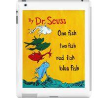 dr. seuss acrylic painting iPad Case/Skin