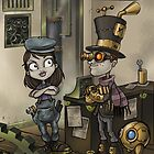 SteampunkSubstationB_01 by Craig Bruyn