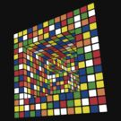 Illusion Cube 2 by Doucey Tees
