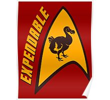 Expendable Dodo Poster