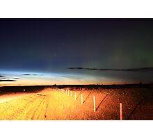 Noctilucent cloud Photographic Print