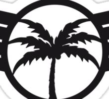 Cool Palm Emblem Sticker