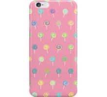 Cute Lollipop Pattern iPhone Case/Skin