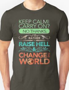 Change the World Unisex T-Shirt