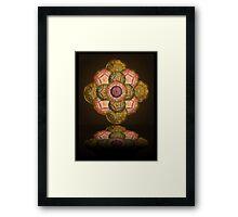 ©DA The Shield Of Fractal I Framed Print