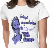 A Good Day to Dream Womens Fitted T-Shirt