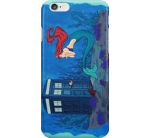 dr who and ariel iPhone Case/Skin