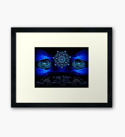 ©DA I Can See You / Akasha Framed Print