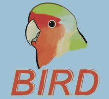 BIRD - Rosy-faced Lovebird Kids Clothes