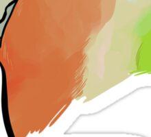 BIRD - Rosy-faced Lovebird Sticker