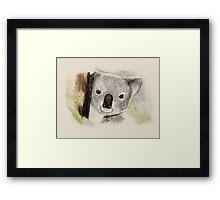 Sweet koala Framed Print