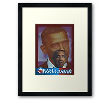 Obama 2016 presidential collection Framed Print