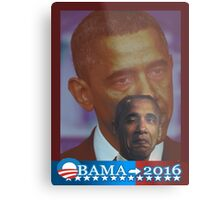 Obama 2016 presidential collection Metal Print