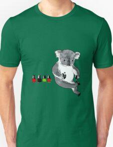 Claw Painting Koala Unisex T-Shirt