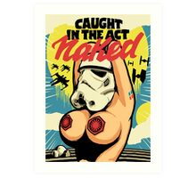 Caught in the Act Art Print