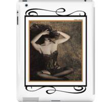 Sensuality in Sepia - Self Portrait iPad Case/Skin