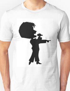 The Singer's Silhouette Unisex T-Shirt