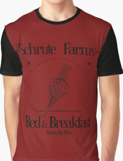 Schrute Farms B&B Graphic T-Shirt