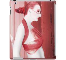 The Red Stripe - Self Portrait iPad Case/Skin